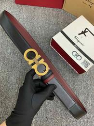 cinturones modernos Rebajas Estilo moderno Moda de lujo Cinturón Cinturones de doble tez Cinturones de diseño de cuero de alta calidad Marca famosa Cinturón de los hombres Cinturón de las mujeres