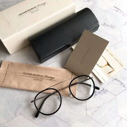 2020 óculos pessoas oliver Atacado-Oliver Peoples MP-3-XL redonda óculos moldura Óculos 49/22/145 New wih Quadro BoxOptical óculos pessoas oliver barato