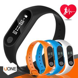 Telefone m2 on-line-M2 rastreador de fitness faixa de relógio monitor de freqüência cardíaca à prova d 'água atividade rastreador inteligente pulseira pedômetro chamada lembrar saúde pulseira com oled