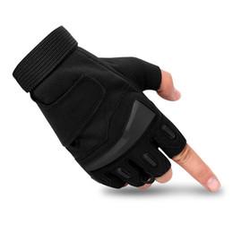 нейлоновые спандексные перчатки Скидка Год 2019 Спортивной половина пальцев перчатки весеннего и летнего спецназ мужского наружная тактические перчаток фитнес нескользящей езды перчатка