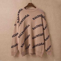 Männer-pullover jacquard online-2019 Männer Jacquard Druck Crew-Pullover Damen-Pullover grün indigo braun S M L XL XX ## 135 ## 688 ## 991