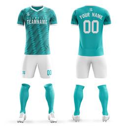 Pantalones cortos de camiseta de fútbol de las niñas online-Niños adultos Camisetas de fútbol Niños y niñas Conjuntos de ropa de fútbol Manga corta Niños Uniformes de fútbol Chándal de fútbol Jersey