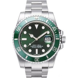 Luxo Men Watch Top Quality Men Watch Relógio Mecânico Automático 40 milímetros 116610 painel de cerâmica impermeável relógio de pulso 30M Sapphire de
