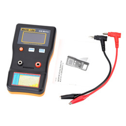 Medidor de circuito online-Freeshipping MESR-100 ESR Medidor de capacitancia Medidor de ohmios Medición de capacitancia de resistencia profesional Probador de circuito de capacitor