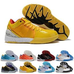 Nuevas suelas de baloncesto online-Nuevos zapatos de baloncesto Venta Zoom Kobe IV 4 4s Protro día del draft Hornets Carpe Diem Del Sol Deportes Para Hombres Formadores las zapatillas de deporte