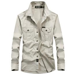 camisa de vestir grande para hombre Rebajas Camisas para hombre caliente nuevo negocio de la moda casual flojo longitud de la manga Camisas de ropa para hombre camisas del ocio de 4 colores de gran tamaño M-6XL