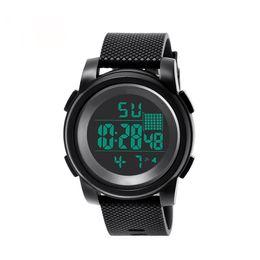 2019 спортивные наручные часы  Sports Watches of Men Digital LED  Wristwatch High-End 30M Waterproof Electronic Watches Series Men's Clock дешево спортивные наручные часы