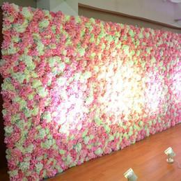 grandi teste di fiori artificiali Sconti Artificiale Hydrangea Flower Head Seta grande fiore fai da te a casa a mano decorazione della corona retrò finestra a mano