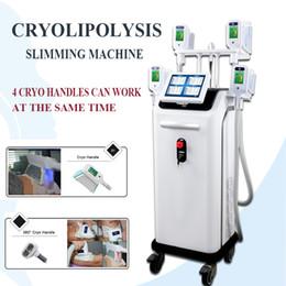 2019 машина для липофиринга Профессиональный 5 головок Cryotherapy уменьшая тучное замерзая тело Lipofreeze липолиз Cryo потери Wight уменьшая CE машины дешево машина для липофиринга