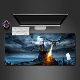 2019 coole spiele für pc Dargon Spiel Mouse Pad Super Cool Top-Lock-Edge-PC-Spiel-Computer-Tastatur Mauspads Gamer-Matte für zu Gamer günstig coole spiele für pc