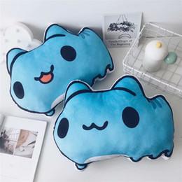 großhandel plüsch hai Rabatt Anime Gefüllte Kissen Bugcat Capoo Cosplay Blue Cat Nette Plüschtiere Dekoration Kissen