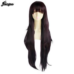Danganronpa Dangan-Ronpa Kyoko Kirigiri Cosplay Wig UK