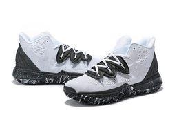 Kyrie 5 crianças meninos Oreo sapatos de vendas Com Caixa Irving 5 cookies creme de Basquete sapato frete grátis size36-46 de Fornecedores de enviar cookies