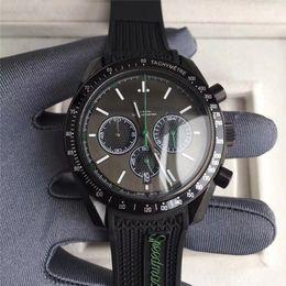 2019 мужчина часы хронограф известные бренды Black Business 2 Style мужские часы VK Кварцевый механизм с хронографом Наручные часы Роскошные часы Корпус из нержавеющей стали известного бренда дизайнера дешево мужчина часы хронограф известные бренды