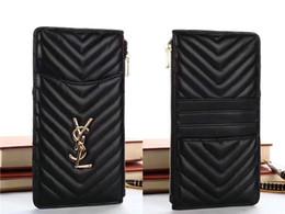 Cüzdan Deri Moda kadınlar Debriyaj çanta Telefon kılıfı Için iPhone X Xs Max XR 8/7/6 Artı Marka Tasarımcı Çanta Kız kadın para fermuarlı çanta supplier leather money bag brands nereden deri para çantası markaları tedarikçiler