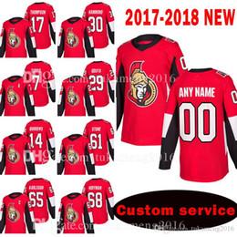johnny oduya jersey Desconto MENS Ottawa Senators Custom Novo 17 Nate Thompson 30 Andrew Hammond Jersey 7 Kyle Turris 29 Johnny Oduya 14 camisas de Alexandre Burrows