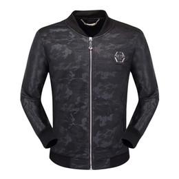 Frühling und Herbst Neue Trends Schlank Schlank Stehkragen Mode Pu-Leder Large Size Casual Einfache Herrenjacke Jacke von Fabrikanten