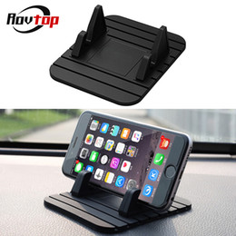 rubber phone holder for car Coupons - MEIDI Car Dashboard Non-slip Mat Rubber Mount Phone Holder Pad Mobile Phone Stand Bracket For Samsung Xiaomi Mobile Holder