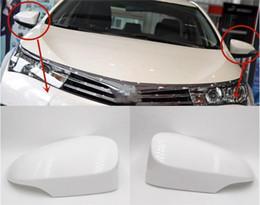 Acessórios corolla on-line-Tampa Do Espelho Da porta para Toyota Corolla 2014 2015 2016 2017 Acessórios retrovisor Cap vista traseira 87945-02930 87915-02930
