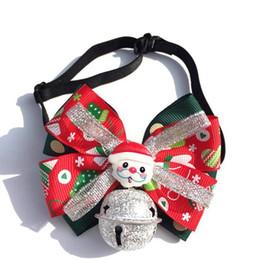 2019 chihuahua halsbänder Mode Hund Katzen-Kragen mit Bowtie Welpen Verstellbare Handmade Bogen-Knoten Halsbänder Small Medium Hunde Katzen Chihuahua-Weihnachtsgeschenk rabatt chihuahua halsbänder