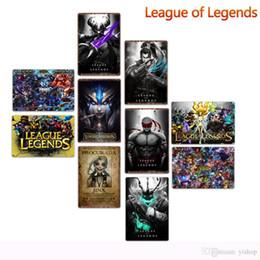 2019 lega lega metallo 20 * 30cm League of Legends Metallo Targhe in metallo Vintage Poster Metal Plaque Club Wall Home art metallo Pittura Decorazioni per la casa d'arte immagini