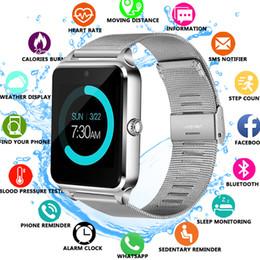 женские часы android Скидка Смарт-часы Z60 GT09 Мужчины Женщины Bluetooth запястье Smartwatch поддержка SIM-карты/TF наручные часы для Apple Android телефон PK DZ09