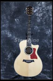 Starshine guitare acoustique électrique de haute qualité 40 B-Band touche ébène touche supérieure solide incrustation d'ormeau ? partir de fabricateur