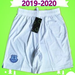 Pantaloncini da calcio everton online-EVERTON 2019 2020 pantaloncini da calcio 19 20 casa pantaloni bianchi di calcio maillots de foot KEAN RICHARLISON SIGURDSSON André Gomes KEANE WALCOTT CENK