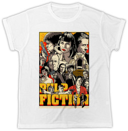 a4cd9a7431 PULP FICTION MOVIE POSTER FUNNY COOL IDEAL GIFT MENS UNISEX T SHIRT Men  Women Unisex Fashion tshirt Free Shipping funny movie t shirts on sale