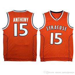 Argentina Jersey de la universidad NCAA Carmelo 15 Anthony Jersey 1 Irving 33 Durant McGrady Jersey Camisetas de baloncesto para hombre Suministro