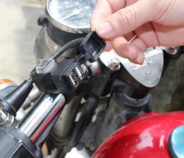 carregador de carro multibanco usb Desconto 12 V-24 V universal nova motocicleta acessórios carregador de telefone celular dual port USB à prova d 'água carro multi-função assento do espelho lidar
