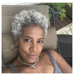 Short Curly Silver Hair Nz Buy New Short Curly Silver Hair Online From Best Sellers Dhgate New Zealand