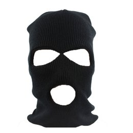 maschera nera tattica Sconti Black Mask Army Tattico Inverno Warm Face Mask Bicicletta Thinsulate Warm Ski Cycling Hat Neck passamontagna Wargame Special Forces