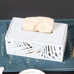 2019 copertura in plastica a distanza 1 * Scatola di fazzoletti Scatola di fazzoletti di legno vuota Modello di scatola di carta per auto Supporto per fazzoletti di carta Piccolo grande resistente