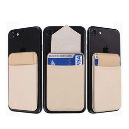 мобильный держатель для спины Скидка Держатель карты для мобильного телефона Кожаный чехол для мобильного телефона в стиле хиджаб