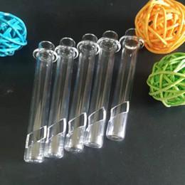 Chaleur du tube en Ligne-Tube en verre de quartz pour tube concentré concentré EVO vapexhale tube xnail garder la chaleur enfermé bon prix