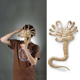 mario lanyard al por mayor Rebajas Alien Facehugger Chestburster figura rellena de peluche de juguete muñeca suave regalo creativo