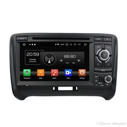 "audi dvd di android dell'automobile Sconti Android 8.0 Octa Core 2 din 7"" automobile DVD GPS Radio per Audi TT ROM 32GB 2006-2013 Car Audio Bluetooth 4GB di RAM 4G WIFI TV USB"