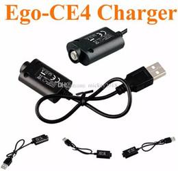 ce3 ce4 Ego Cable USB Cargador USB Cigarrillo electrónico E Cig Cargadores para Ego T Ego c EVOD twist vision spinner mini batería desde fabricantes