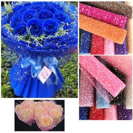 4 Mètres Tull Rouleau Ruban Pour Fleur Neige Point Fil Fête De Noël Anniversaire Floral Papier D'emballage Cadeau ? partir de fabricateur