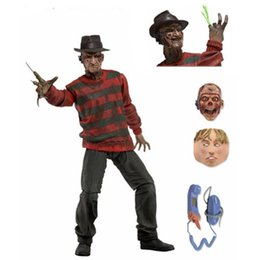 Figura ação rua on-line-Monster Street Figurine Black Friday Jason Modelo Figuras de Ação Freddie Mudança Cabeça Toy Bonecas Ornamento Presentes Móveis 50tc N1