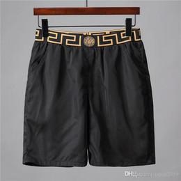 newcastle brown Promotion Nouveau shorts de plage en gros shorts d'été pour hommes 2019 pantalon de plage populaire logo costume maillot de bain pantalon de plage