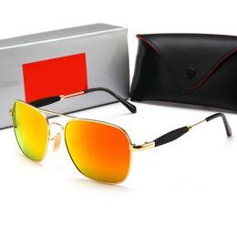 Paquete original de gafas de sol online-RayBan RB2168 marca de primera calidad gafas de sol de piloto UV400 hechas de vidrio mujeres hombres gafas de sol gafas oculos con paquetes originales, accesorios de todo