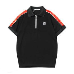 Мужские рубашки поло полиэстера онлайн-OBO Новая мода мужская рубашка поло мужская повседневная рубашка поло полиэстер сплошной цвет отдыха Medusa POLO летние виды спорта большой размер M-XXXL AO