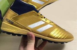 Los mejores 2019 hombres Predator Tango 18.3 TF, zapatos de fútbol, entrenadores atléticos, los mejores zapatos deportivos para correr, botas de entrenamiento, zapatillas de deporte para correr desde fabricantes