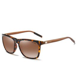 c820de67d6 Gafas de sol polarizadas TAC Lens AL-Mg Alloy UV400 para hombres y mujeres  Moda Cuidado del ojo Ropa