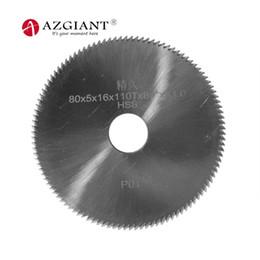 schlüsselmaschinenschneider Rabatt 110T 80 * 5 * 16mm P01 HSS Winkelfräser 84 Grad Klinge für SILCA BRAVO Schlüsselfräsmaschinen Schlüsselvervielfältigung