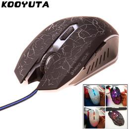 souris optique 6d Promotion KOOYUTA Promotion 4800DPI LED Optique 6D USB Filaire Gaming Mouse 6 Boutons Jeu Pro Gamer Souris D'ordinateur Pour PC Ordinateur Portable