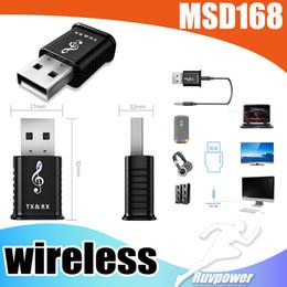 Deutschland Neue MSD168 Jack und USB Wireless Bluetooth Musik Audio Receiver Dongle Adapter für Aux Car PC für IOS Android Phone Versorgung