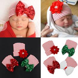 cappelli beanie bianchi per neonati Sconti Moda estate Neonato Neonate Morbido cotone Berretto da ospedale Grande fiore Principessa Cappelli bianco rosa adorabile Grande fiore
